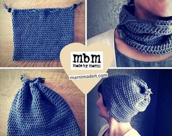 Hat Cowl #1 Crochet Pattern