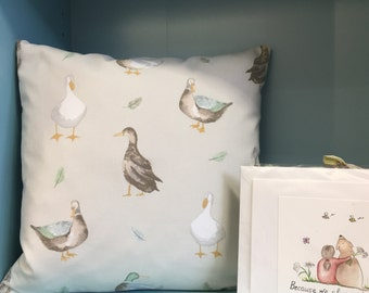 Duck Design Cushion,  Duck, Ducks, Cushion,