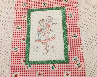 Teddy Bears of the Month Stitchery Sign Up