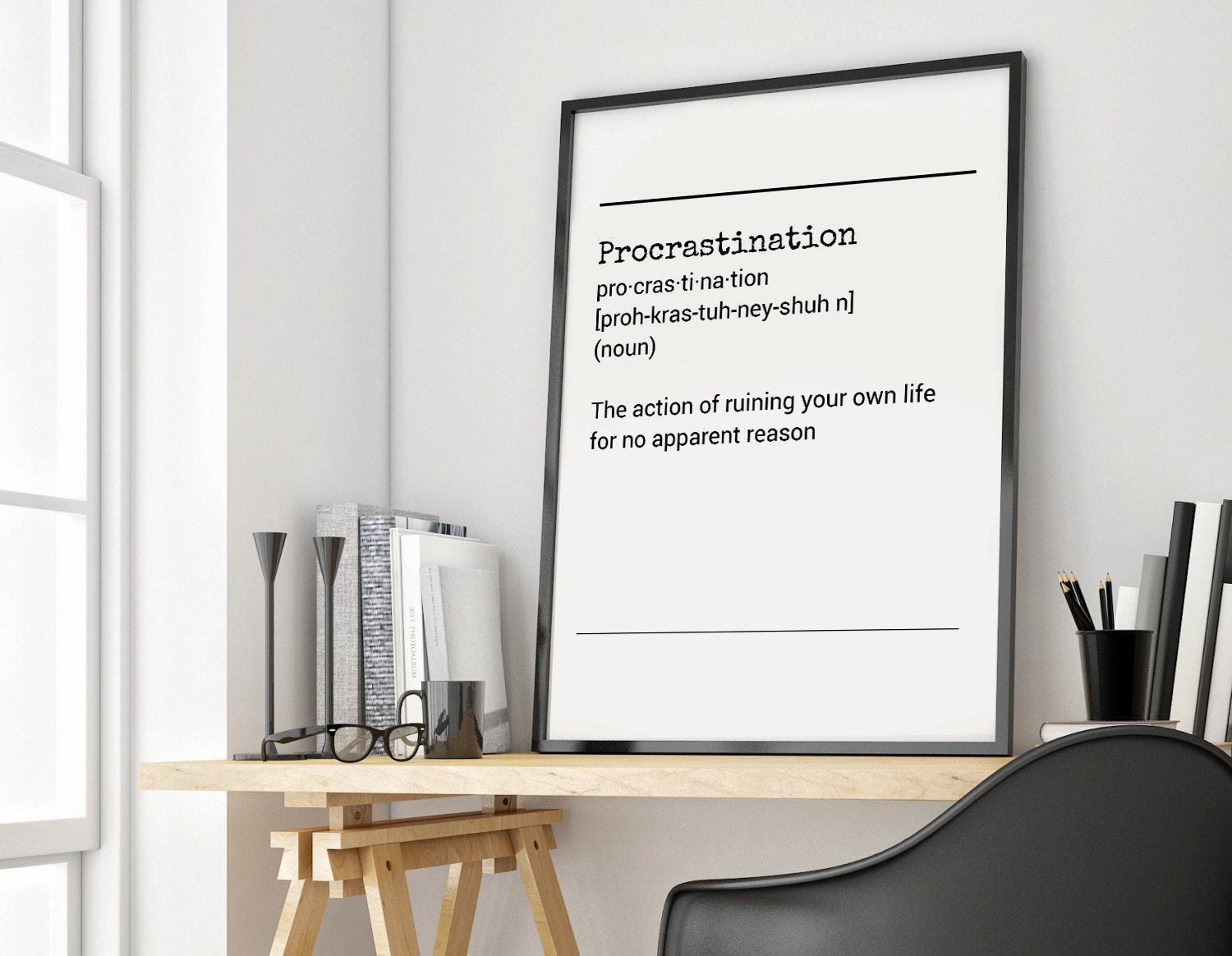 procrastination definition Procrastination - the act of putting a duty off to later time.
