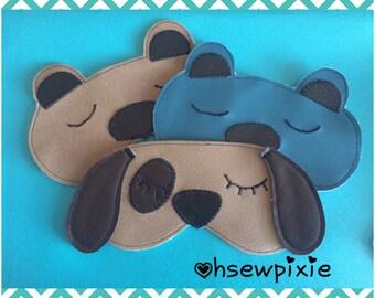 Sleepy eye masks
