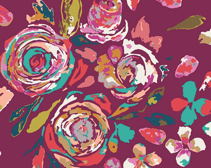 Boho Fusion by Art Gallery Fabrics - Swifting Flora Boho - Rayon Fabric