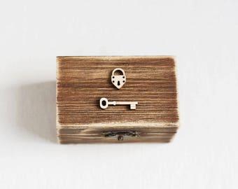 Wedding ring box, Wedding box, Wooden ring bearer box, Ring Bearer Pillow, Rustic ring box, Wedding Ring Holder, Romantic Wedding, Handmade