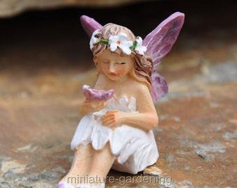 Tiny Fairy Mari for Miniature Garden, Fairy Garden