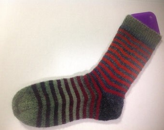 Changing Leaves Gradient Stripe Sock