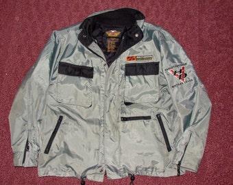 Men's Harley Davidson Jacket Zip Out Lining Size Large