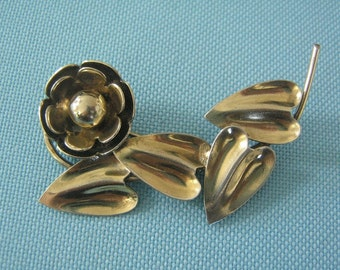 McClelland Barclay Sterling Brooch