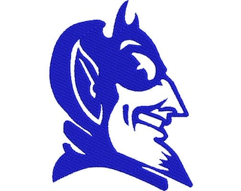 Duke University Blue Devils Embroidery file 5 SIZES!
