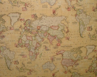 Medium middle earth map cotton fabric lord of the rings the sand atlas world globe map cotton linen fabric curtain blinds craft quilting gumiabroncs Gallery