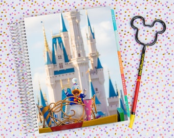 Disney World Erin Condren Life Planner Cover INSTANT DOWNLOAD - Donald on Main Street