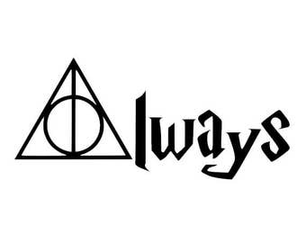 Harry Potter- Always Vinyl Decal