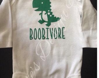 BOOBIVORE/ breastfeeding/ baby shirt/onesie / toddler shirt