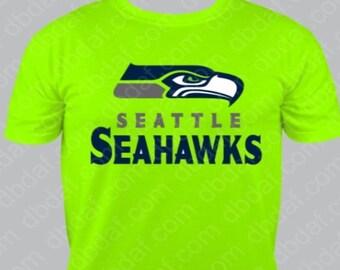 Seattle Seahawks Logo vinyl sports design