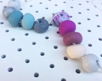 Sarah // Polymer Clay Necklace