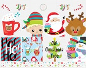 Christmas Friends Planner Stickers
