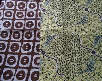 Australia and Africa Fat Quarter Fabrics