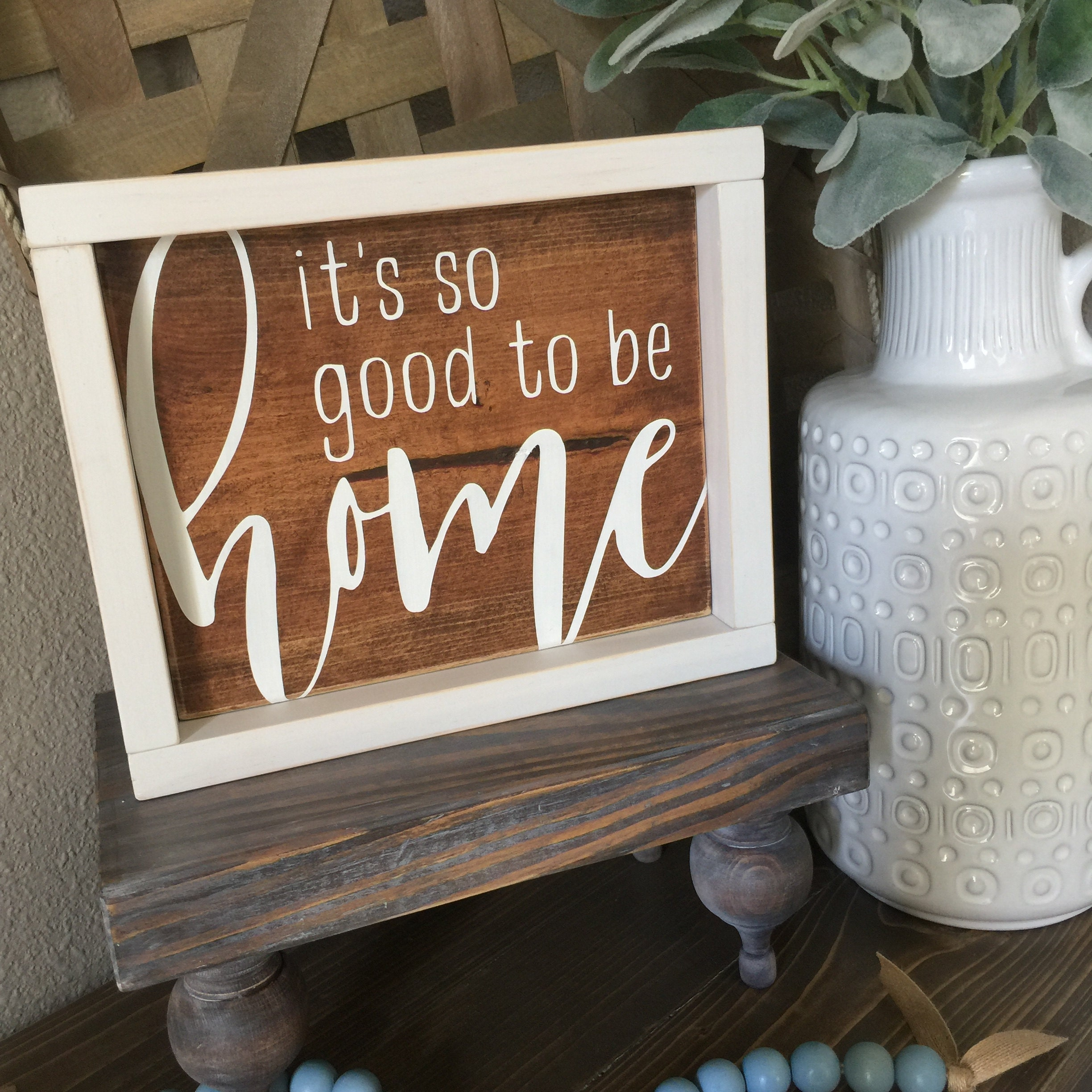Custom Hand Painted Wood Signs And Home Decor. By