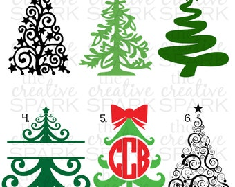 Christmas Tree Decals