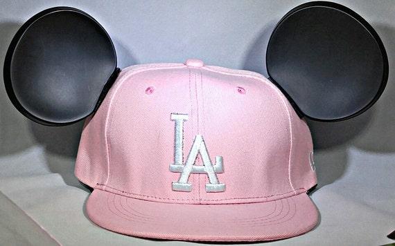 Mickey LA Dodgers. LA Dodgers.Pink Baseball Cap.