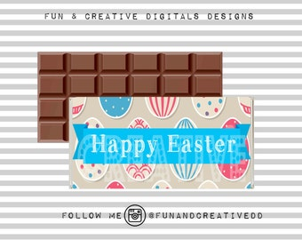Easter Chocolate Wrapper 1