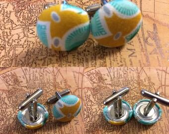 The Aquamarine Cufflinks