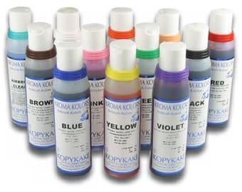 Kopykake Kroma Kolors - 12 Bottles Set - 4oz
