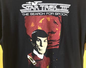 Vintage Star Trek III: Search for Spock tee