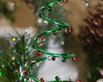 Spiral Ornament Tree Etsy