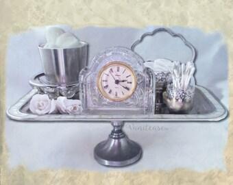 """Vintage Vanity set """"Vanitease #300"""