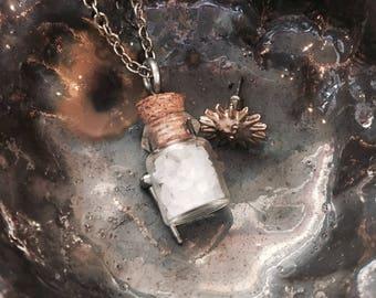 Salt in a Bottle Necklace