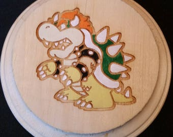 Bowser (Super Mario Brothers) Wooden Wall Hanger