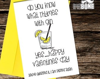 No27 VALENTINES DAY Card Adult Boyfriend or Girlfriend HUMOUR Funny Rude Humorous Greetings Card By Close to the Bone