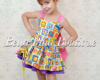 Bubble Guppies Poppy Dress