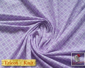 LIQUIDATION, Knit, lilac, cotton-poly-lycra, jersey, spandex, multiple quantity cut in one piece, 454-60