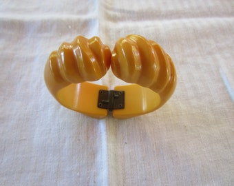 Bakelite Hinged Bangle