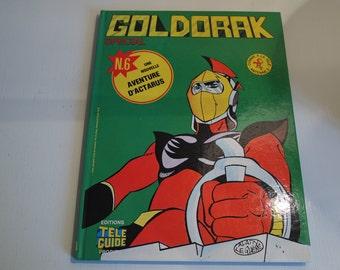 "France 1978 Goldorak Number 6 album in french : ""The Vega traps"""
