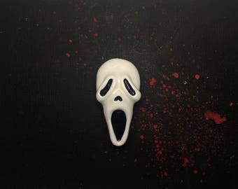Ghost Face Pin