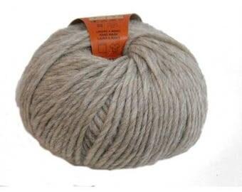 Organic yarn - 03 - Ecru - 50g - Aran - Knitting Yarn
