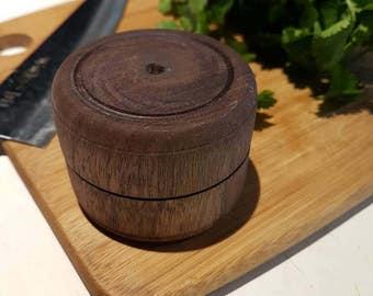 Wooden Hand Herb Grinder