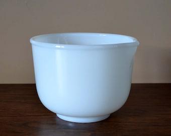 Vintage Sunbeam Mixer Bowl, Milk Glass Mixing Bowl Made For Sunbeam