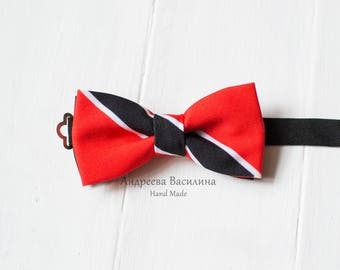 Bow ties flag Trinidad, carnival season