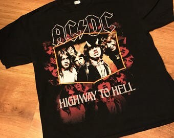 AC/DC Highway to Hell T-shirt size XL
