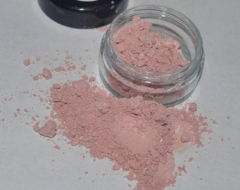 Limited Edition Pink Cashmere Mineral Blush, All-Natural, Vegan, Gluten and Cruelty-Free Mineral Makeup