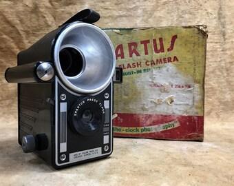 Spartus Press Flash Camera with Box and Manual