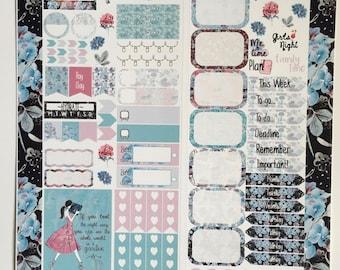 Secret Garden Personal Planner Sticker Kit: