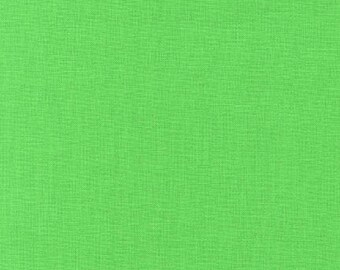 Sour Apple, Green Fabric, Kona Cotton Solids, Green Solid Fabric, Solid Fabrics, Kona by Robert Kaufman, 144