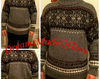 Mens sweater - FREE SHIPPING