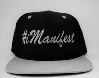 The Inner Self Collection 2.0 #iManifest SnapBack Black/Grey
