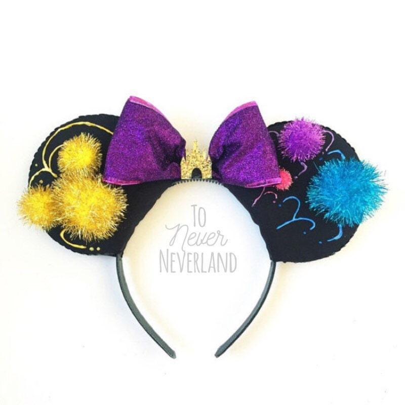 Disneyland Forever Inspired Fireworks Ears Magic Kingdom