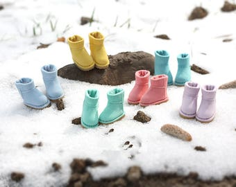 Short Snow boots shoes for Blythe/DAL/Pullip/Momoko/AZONE/JerryBerry/Lati_Y/Pukifee